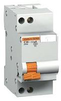 Дифференциальный автомат АД63 1п+N 16A 30mA С АС