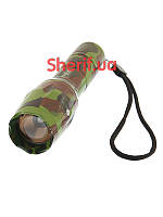 Фонарик police светодиодный аккумуляторный Bailong Police BL-1831-T6 Army