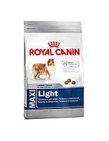 Сухий корм для собак ROYAL CANIN Maxi light weight care 15 кг