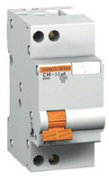 Дифференциальный автомат АД63 1п+N 25A 30mA С АС