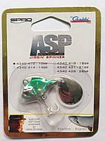 Блесна Spro HS ASP Jiggin` Spinner 10g Green/Beige