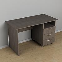 Стол письменный с ящиками 1200*600*726h