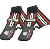 Бинты Power System кистевые для тяжелой атлетики,красные