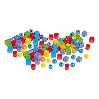 Обучающий набор Gigo ( Гиго ) Пластиковые бусы, детская шнуровка