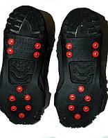 Ледоступы на обувь - 10 шипов, размеры М-XXL 35-52