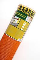 Сетка фасадная 160гр/м2 (50 м), Оранжевая