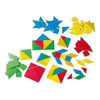 Обучающий набор Gigo ( Гиго ) Танграм, фигуры, головоломка