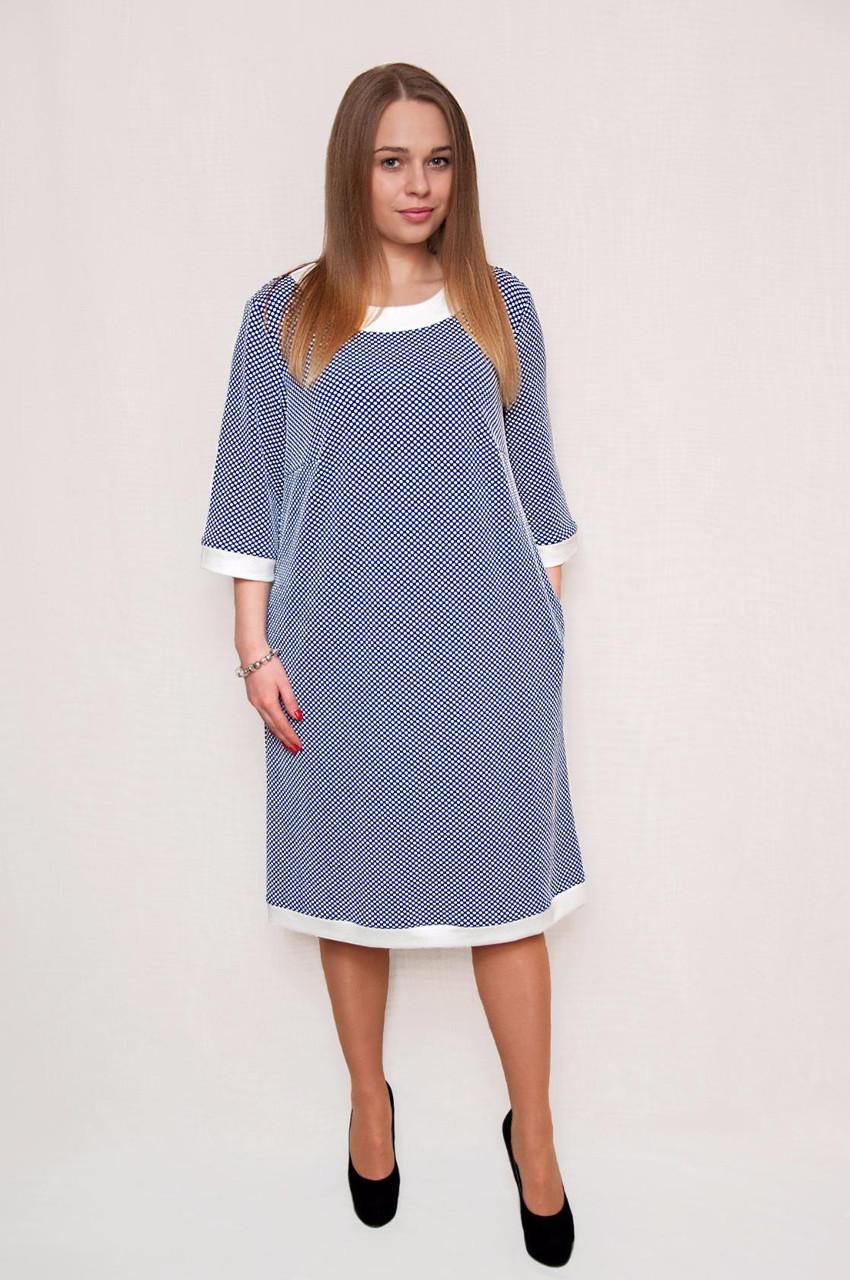 Стильное платье большого размера - Оптово - розничный магазин одежды