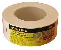 Лента бумажная перфорированная 50мм*23м Fortune