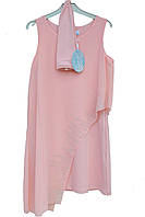 Элегантное нарядное платье с перчатками  для девочки.Marions (Турция)