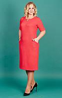 Оригинальное женское батальное платье Линда