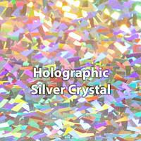 Термопленка голографические Siser Holographic Crystal ( серебро голографическое кусками )