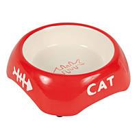 Миска для кота керамическая