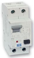 Дифференциальный автомат SEZ PFI2 6A 2p В 30mA