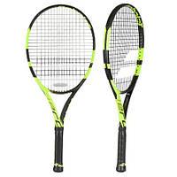 Ракетка для большого тенниса Babolat Pure aero junior 26 black/yellow Gr0 (140175/142)