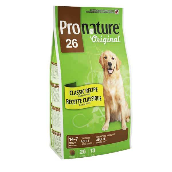 Pronature Original ПРОНАТЮР ОРИНДЖИНАЛ ВЗРОСЛЫХ КРУПНЫХ корм для собак