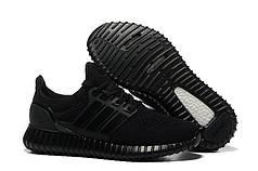 Чоловічі кросівки Adidas Ultra Boost Yeezy Hybrid чорні