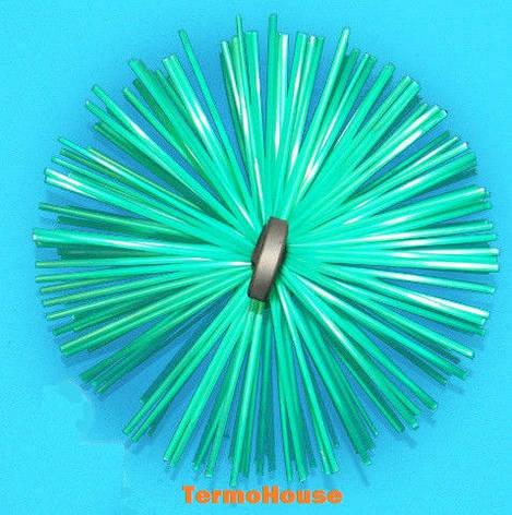 Ёрш для чистки дымохода 200 мм (под веревку, пластиковый), фото 2