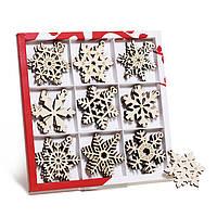 Набор заготовок для творчества «Снежинки подвесные» на сувенир