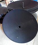 "Диск борони зубчатий ромашка 26"" 660*6мм квадрат 40мм Gregoire Besson 851001198 Kverneland RF28480, фото 2"