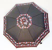 Зонт п/авт черный/красный, фото 1