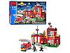 Конструктор Brick 910 Пожарная серия (Пожарная станция)