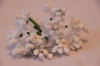Тычинка искусственная белая 5631-1-1