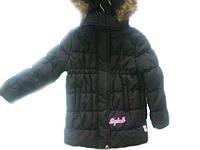 Детское пальто на девочку демисезонное