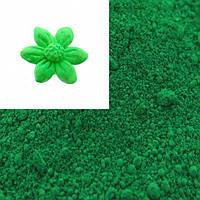 """Sugarflairs""Сухая краска для цветов""Emerald"" (изумруд), фото 1"