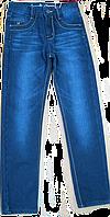 Зимние джинсы на флисе для мальчика