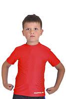 Футболка компрессионная for KIDS MARTIAL FIT red