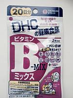 Витамины группы В. В-mix. Курс - 40 капсул на 20 дней. DHC, Япония, фото 1