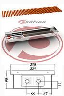 Внутрипольные  конвекторы  POLVAX KE 90 , фото 1