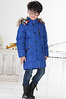 Пуховик детский куртка зимняя на мальчика