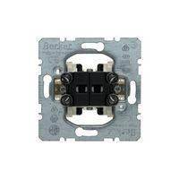 Жалюзийный двухклавишный выключатель с блокировкой, однополюсный, Berker 303520