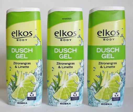 Гель для душа Elkos Лимон & Лайм (Zitronengras & Limette) 300 мл, фото 2