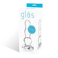 Стеклянный анальный стимулятор Glas Glass Butt Plug 10.2