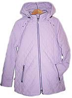 Куртка удлиненная демисезонная на девочку подростковая RM Kids