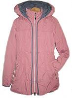 Куртка удлиненная на девочку весна осень RM Kids