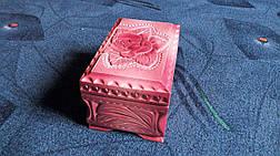 Скринька в різьбі подарункова, фото 3
