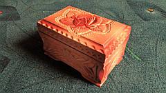 Скринька в різьбі подарункова, фото 2