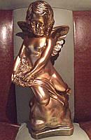 Статуэтка Ангел на облаке бронзового цвета №28