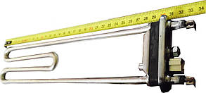 Тэн для стиральной машины 2000 Вт 310мм (с датчиком в комплекте)