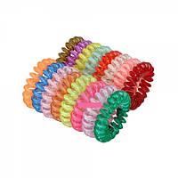 Резинки силиконовые спираль прозрачные