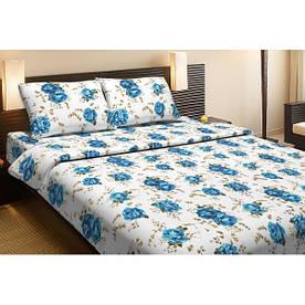 Постельное белье Lotus Ranforce Life Collection Agnes синий семейного размера
