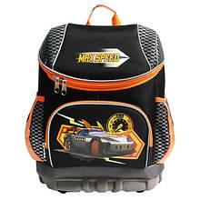 """Рюкзак """"Max Speed"""" чорний/помаранчевий OL-4914-1"""