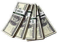 "Деньги сувенирные ""100 Dollars"" (10,000$) пачка денег"