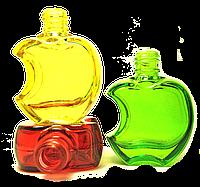 Флакон для наливной парфюмерии цветной Эпл 15 мл комплектация металлический спрей
