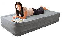 Кровать надувная Intex с встроенным насосом 67766