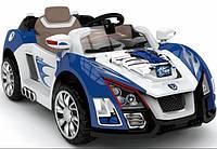 Детский электромобиль Turbo M 1189: 2 мотора, 12V, 7 км/ч - СИНИЙ - купить оптом